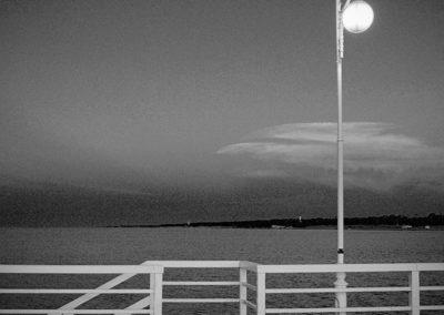 Wybrzeze Baltyku w Polsce - molo w Juracie