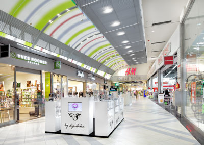 Sarni Stok shopping center, Bielsko-Biala, Poland