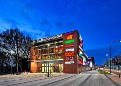 Galeria Tomaszów shopping center, Tomaszów Mazowiecki, Poland