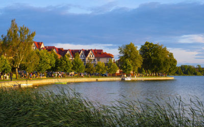 New travel images from Masurian Lakesland town of Ełk, Poland