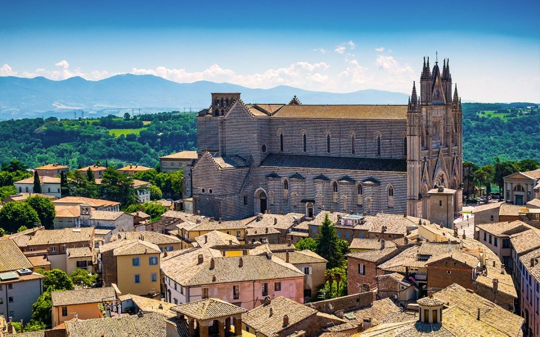 Ciao Italia! Ciao Umbria! Orvieto welcomes :)