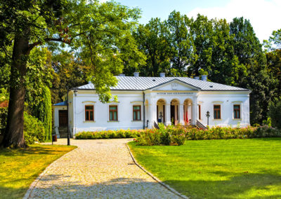 Historic manor house in Czarnolas hosting the museum of Jan Kochanowski - iconic Polish renaissance poet and writer