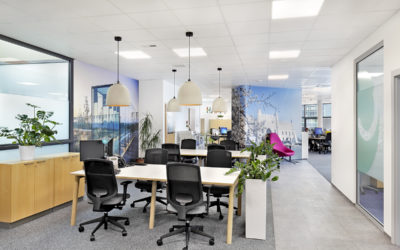 New & fresh – photoshoot of the UPC offices