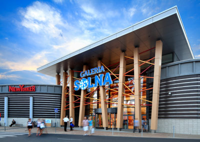 Galeria Solna shopping center, Inowrocław, Poland