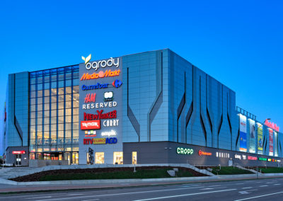 Ogrody shopping center, Elbląg, Poland
