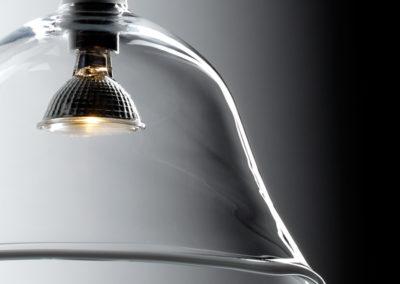 hand-made glass lights by Velt