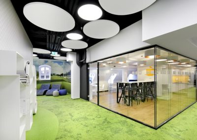 Office interior - design by BEPlan