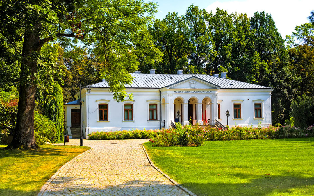 Historic manor house of Jan Kochanowski museum in Czarnolas