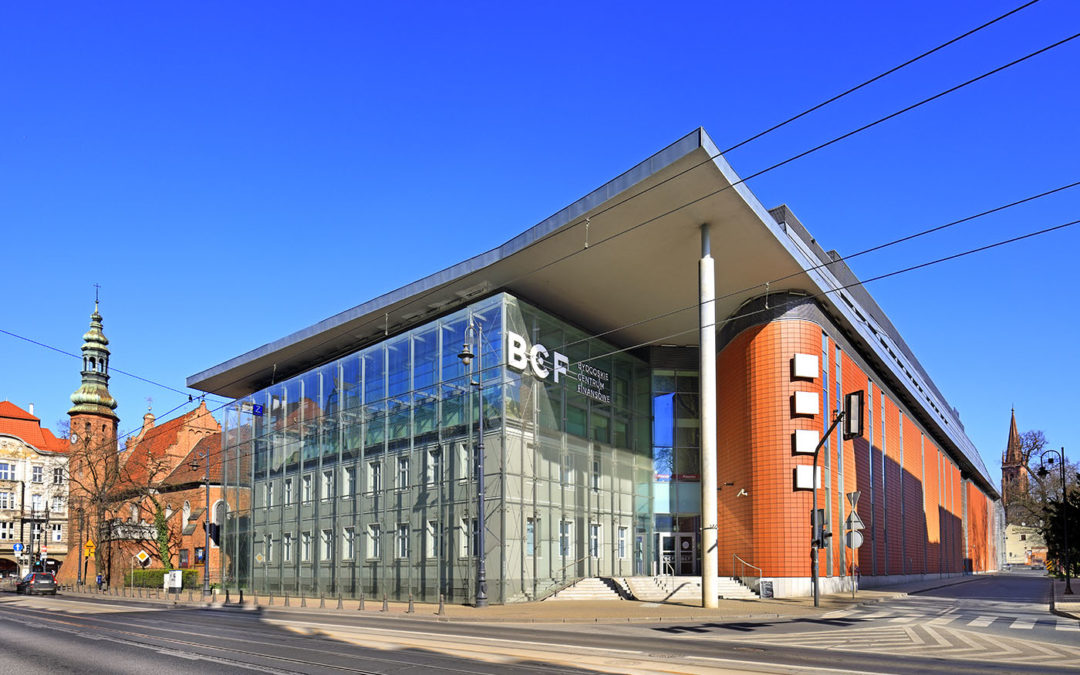 Redeveloped BCF office & retail plaza in Bydgoszcz