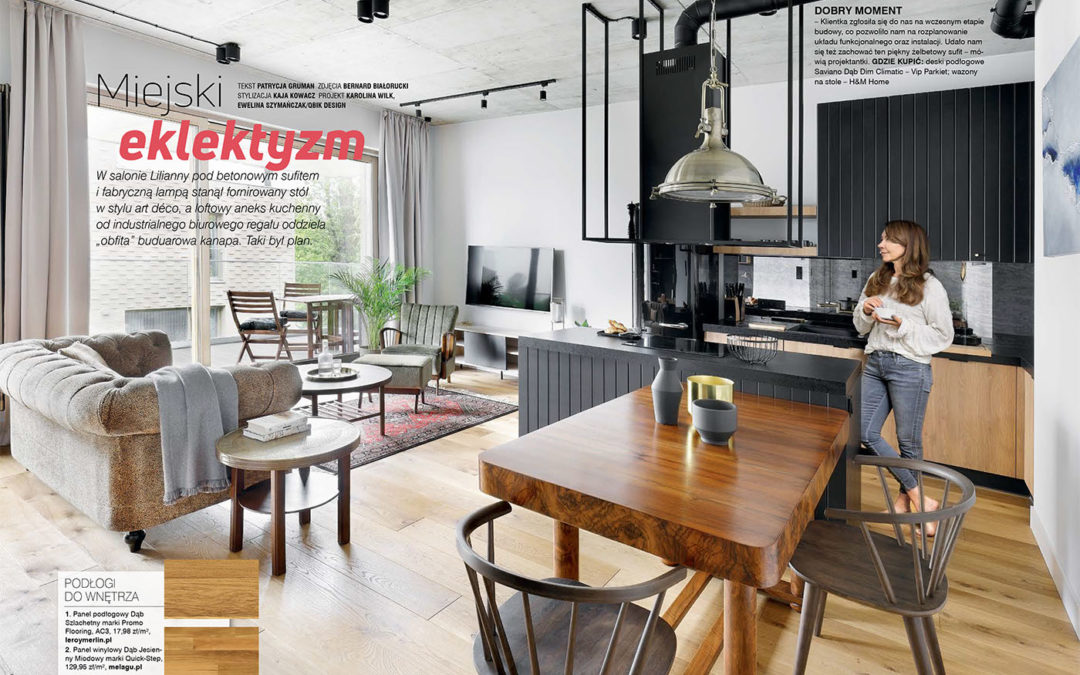 New feature in M jak Mieszkanie magazine