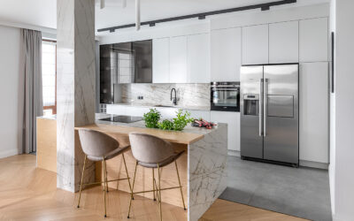 """""""Le chic"""" in modern enclosure – residential interior photoshoot"""