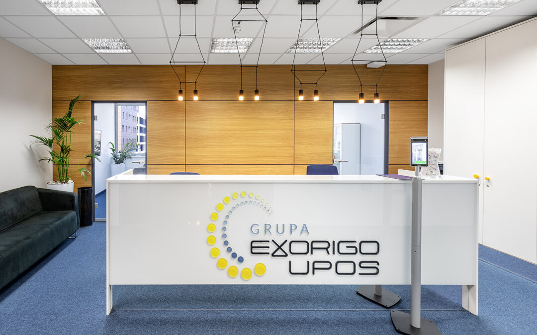 Exorigo Upos offices in Renaissance Tower in Warsaw