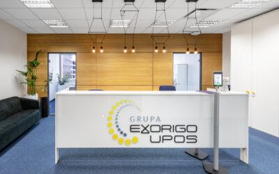 Exorigo Upos offices in Renaissance Tower in Warsaw