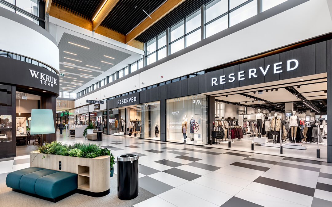 Galeria Chełm shopping center photoshoot