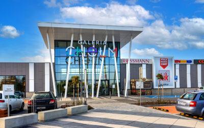 Galeria Chełm – shopping center exterior