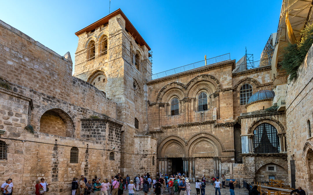 Jerusalem – on the crossroads of the world – Church of the Holy Sepulchre